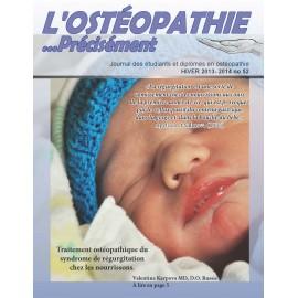 Journal Ostéopathie Précisément No52