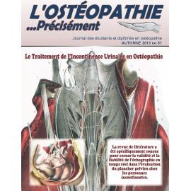 Journal Ostéopathie Précisément No51
