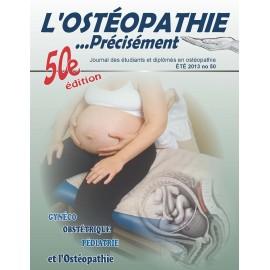 Journal Ostéopathie Précisément No50