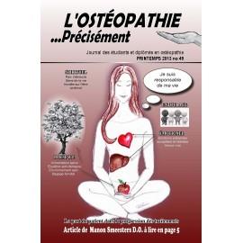 Journal Ostéopathie Précisément No49