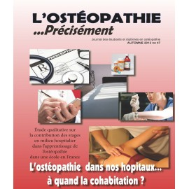 Journal Ostéopathie Précisément No47