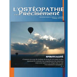Journal Ostéopathie Précisément No41