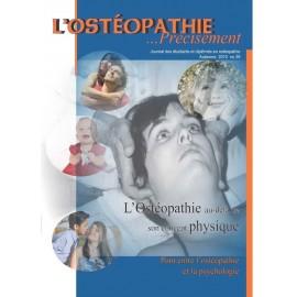 Journal Ostéopathie Précisément No39