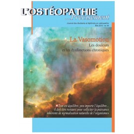 Journal Ostéopathie Précisément No38