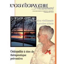 Journal Ostéopathie Précisément No37