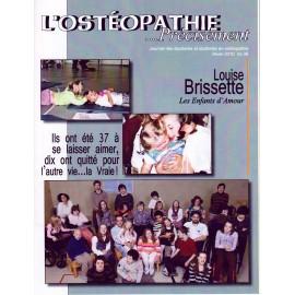 Journal Ostéopathie Précisément No36