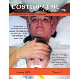 Journal Ostéopathie Précisément No35