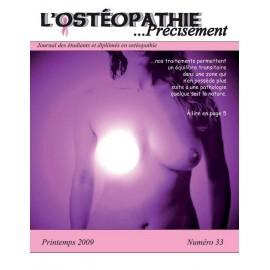 Journal Ostéopathie Précisément No33