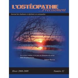 Journal Ostéopathie Précisément No32
