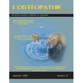 Journal Ostéopathie Précisément No31
