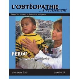 Journal Ostéopathie Précisément No29