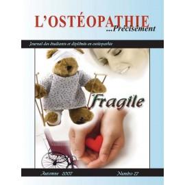 Journal Ostéopathie Précisément No27
