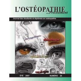 Journal Ostéopathie Précisément No26