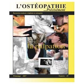 Journal Ostéopathie Précisément No25