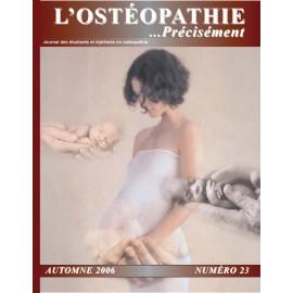 Journal Ostéopathie Précisément No23