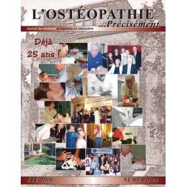 Journal Ostéopathie Précisément No22