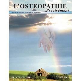 Journal Ostéopathie Précisément No21