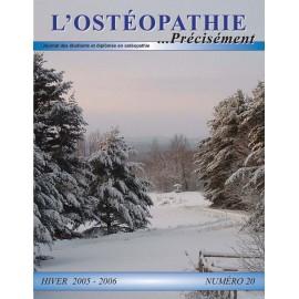 Journal Ostéopathie Précisément No20