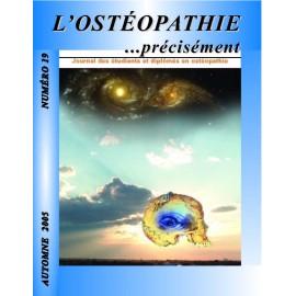 Journal Ostéopathie Précisément No19