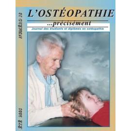 Journal Ostéopathie Précisément No18