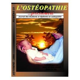 Journal Ostéopathie Précisément No15