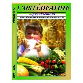 Journal Ostéopathie Précisément No14