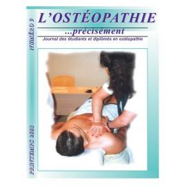 Journal Ostéopathie Précisément No9
