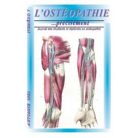Journal Ostéopathie Précisément No7