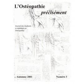 Journal Ostéopathie Précisément No3