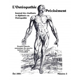 Journal Ostéopathie Précisément No2