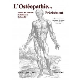 Journal Ostéopathie Précisément No4
