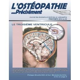 Journal Ostéopathie Précisément No53
