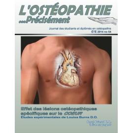 Journal Ostéopathie Précisément No54