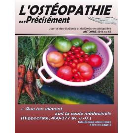 Journal Ostéopathie Précisément No55