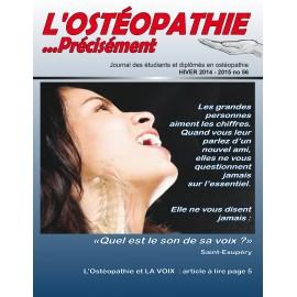 Journal Ostéopathie Précisément No56